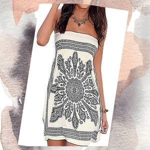 ☀️🆕️Bohemian Beach Cover-Up Dress